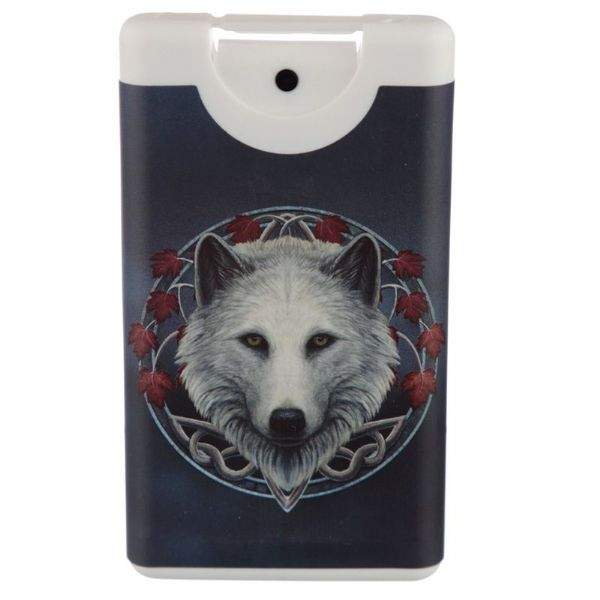Lisa Parker Guardian of the Fall Wolf Hand Sanitiser